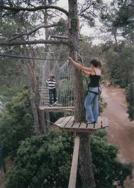 Backroads of Provence: Robinhood Forest where Kids Swing in Trees (4/6)